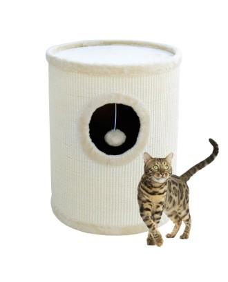 Draskyklė / Namelis katinams 50cm Balta